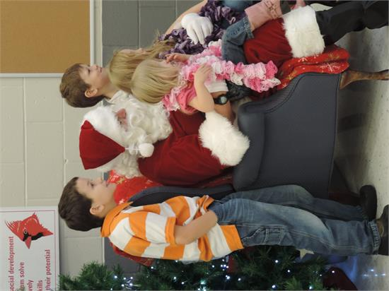 Our PTA sponsored another successful event with Santa!