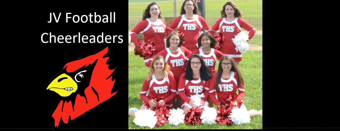 JV FB CHEER