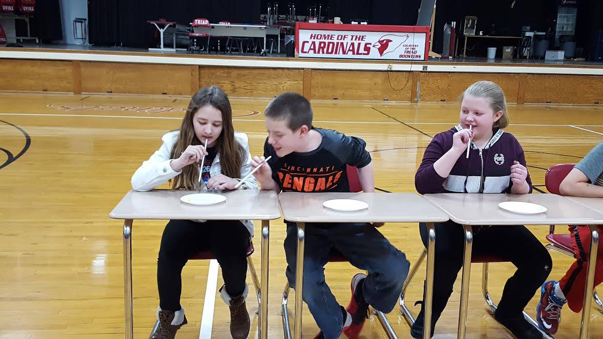 TMS students enjoyed fun Pi-themed activities for Pi Day on March 14.