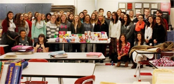 FCCLA Collect for Ronald McDonald House