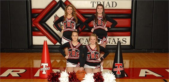 JV cheerleading