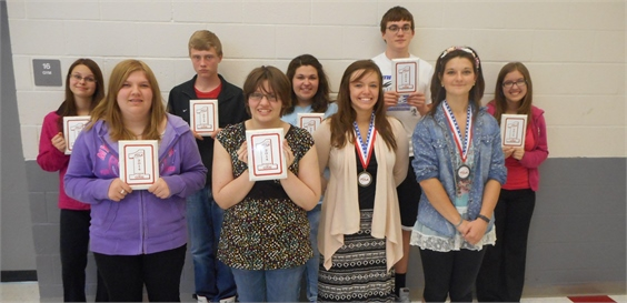 FCCLA Receives Awards at the FCCLA State Competition