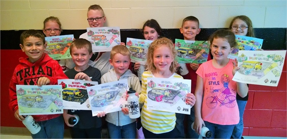 National Bus Safety Week Coloring Contest Winners