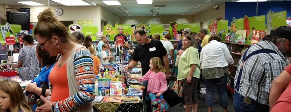 Book Fair at the Elementary