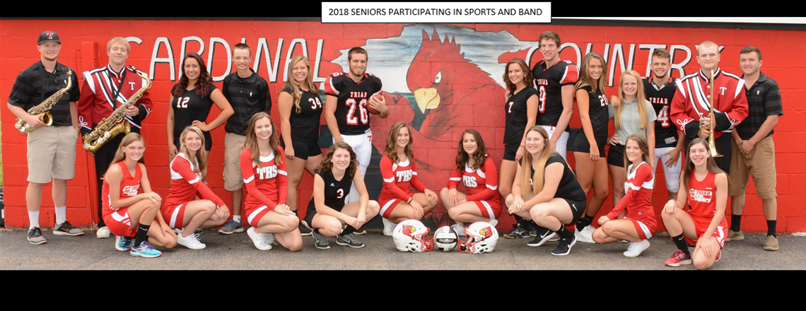 Fall Sports and Band Seniors
